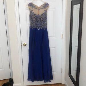 Jovani Blue prom gown / dress